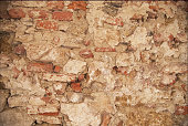 Roman Wall as a background found in Pisa Italy
