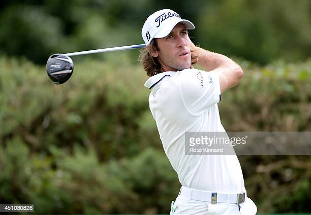 Roman Wattel of France in action during the final round of the Irish Open at the Fota Island Resort on June 22 2014 in Cork Ireland