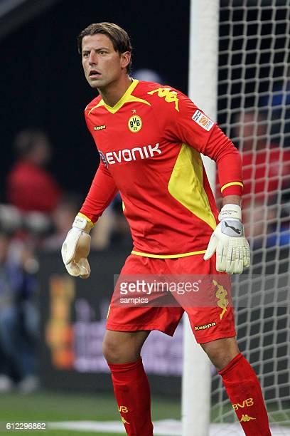 Roman Weidenfeller Borussia Dortmund Fussball Supercup 2011 Schalke 04 gegen Borussia Dortmund Bundesliga Saison 2011 / 2012