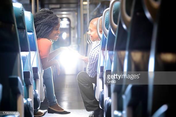 Romantik im Zug