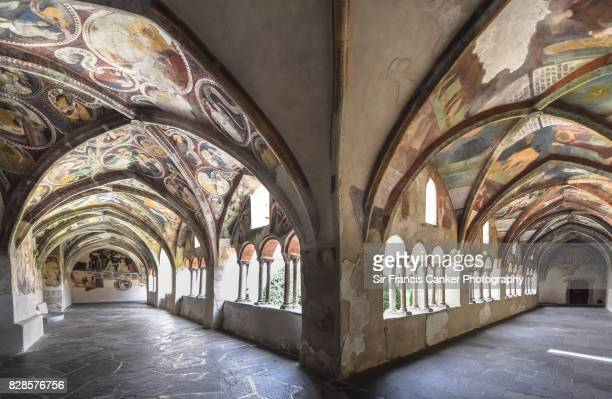 Romanesque cloister of Brixen, South Tyrol, Italy