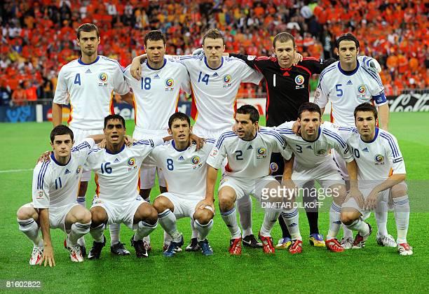 Romanian Soccer Team Marius Niculae ...
