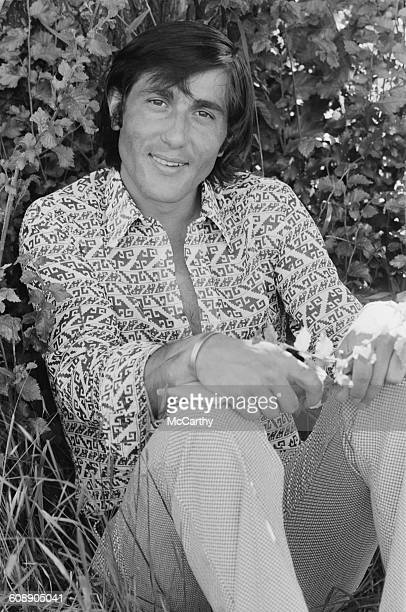 Romanian tennis player Ilie Nastase UK 22nd June 1971
