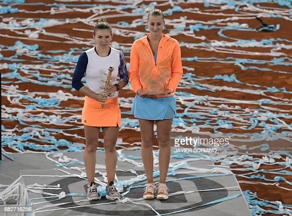 TENNIS-WTA-MADRID-OPEN : News Photo