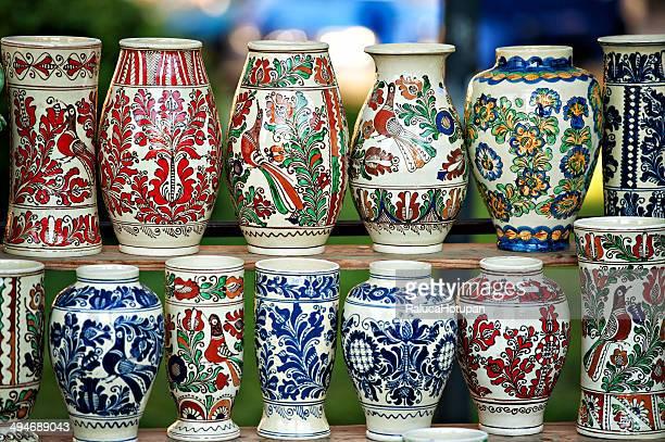 romanian  traditional pottery
