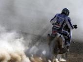 Romania's biker Emanuel Gyenes rides his KTM on stage 8 Atacama Copiapo of the Dakar 2011 Rally AFP PHOTO / Daniel GARCIA