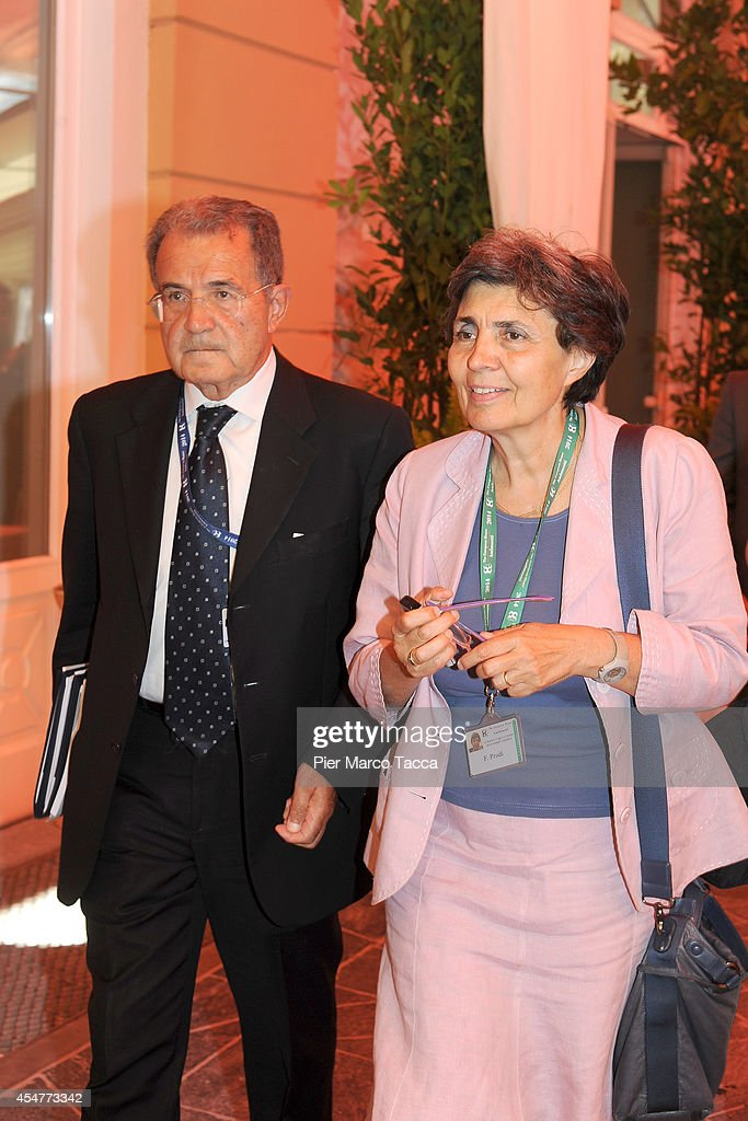 <a gi-track='captionPersonalityLinkClicked' href=/galleries/search?phrase=Romano+Prodi&family=editorial&specificpeople=203301 ng-click='$event.stopPropagation()'>Romano Prodi</a> and his wife <a gi-track='captionPersonalityLinkClicked' href=/galleries/search?phrase=Flavia+Franzoni&family=editorial&specificpeople=739518 ng-click='$event.stopPropagation()'>Flavia Franzoni</a> attend the Ambrosetti International Economy Forum at Villa d'Este Hotel on September 5, 2014 in Como, Italy. 'Intelligence on the World, Europe and Italy' is the title of the workshop of the 40th edition of Ambrosetti International Economy Forum the intent of the workshop is to offer Italian and International decision-makers the opportunity for serious, high-level examination with the support of studies and statistics of geopolitical, economic, technological and social scenarios and their implication for business.