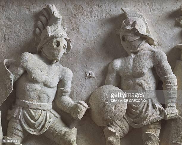 Romans Gladiatorial scene