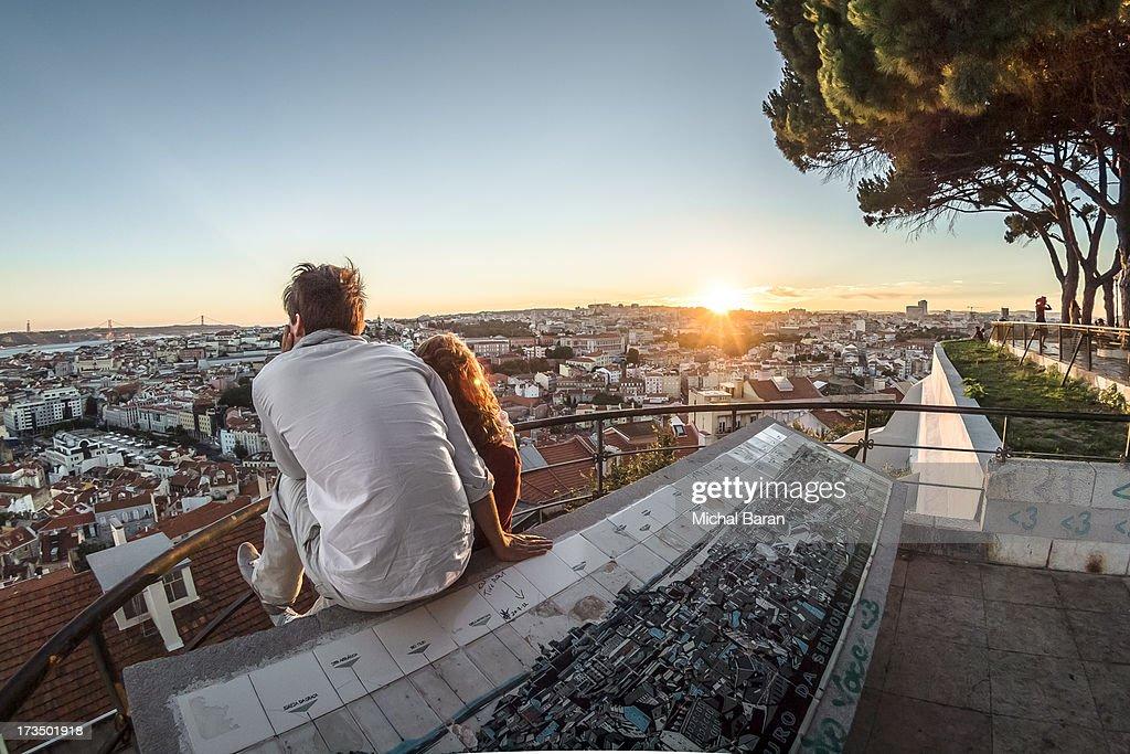 Romantic Alfama Sunset