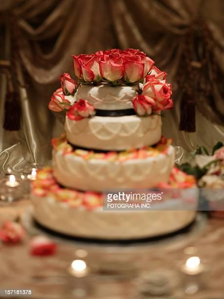 ロマンチックなケーキ