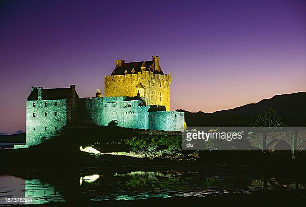 Romantic castle in Scotland