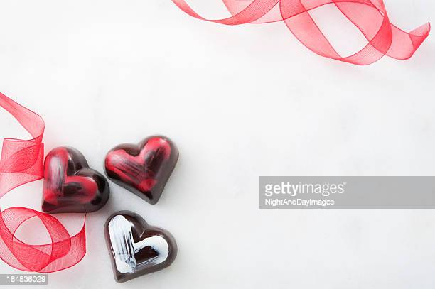 Romantic Chocolate Truffles