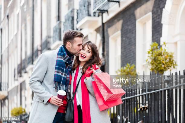 Romantisch zu zweit genießen, Einkaufen in london