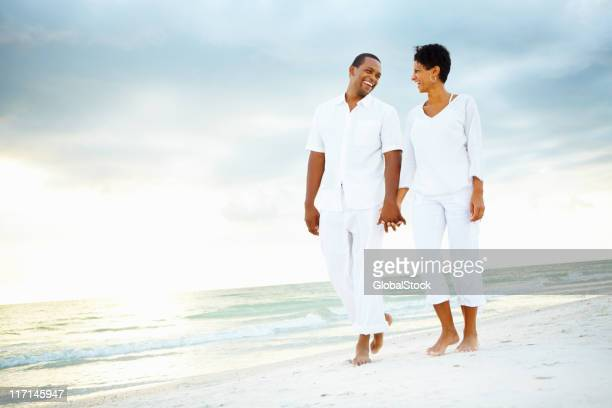 Romantic couple on holiday