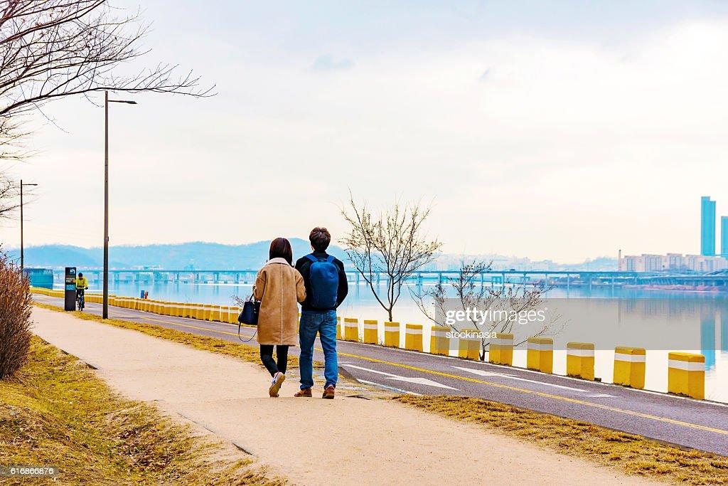 romantic landscape : Stock Photo