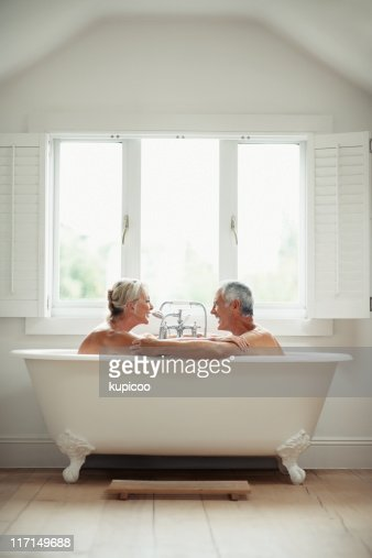 couple bath stock photos and pictures getty images