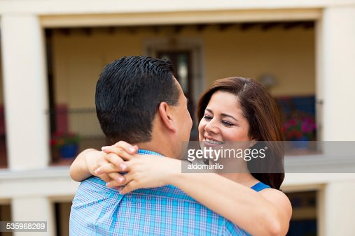 Romantic mature couple : Stock Photo