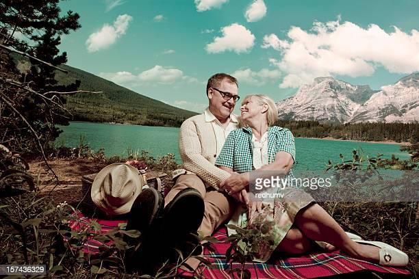 Romantici Picnic sul lago