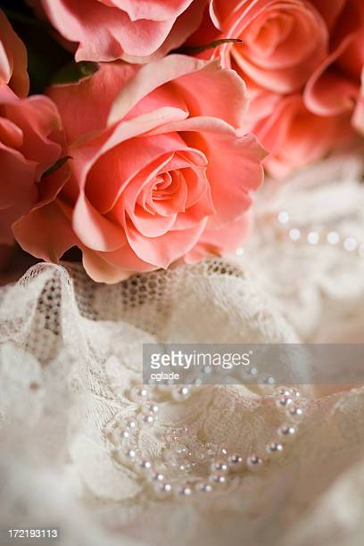 Romantic Roses and Antique Lace