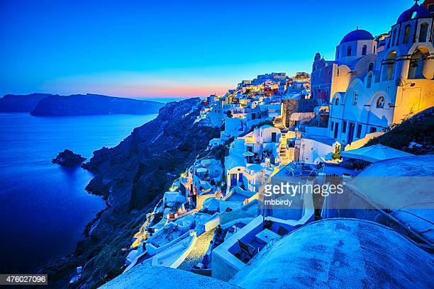 Romantica Villaggio di Oia, Santorini, Grecia