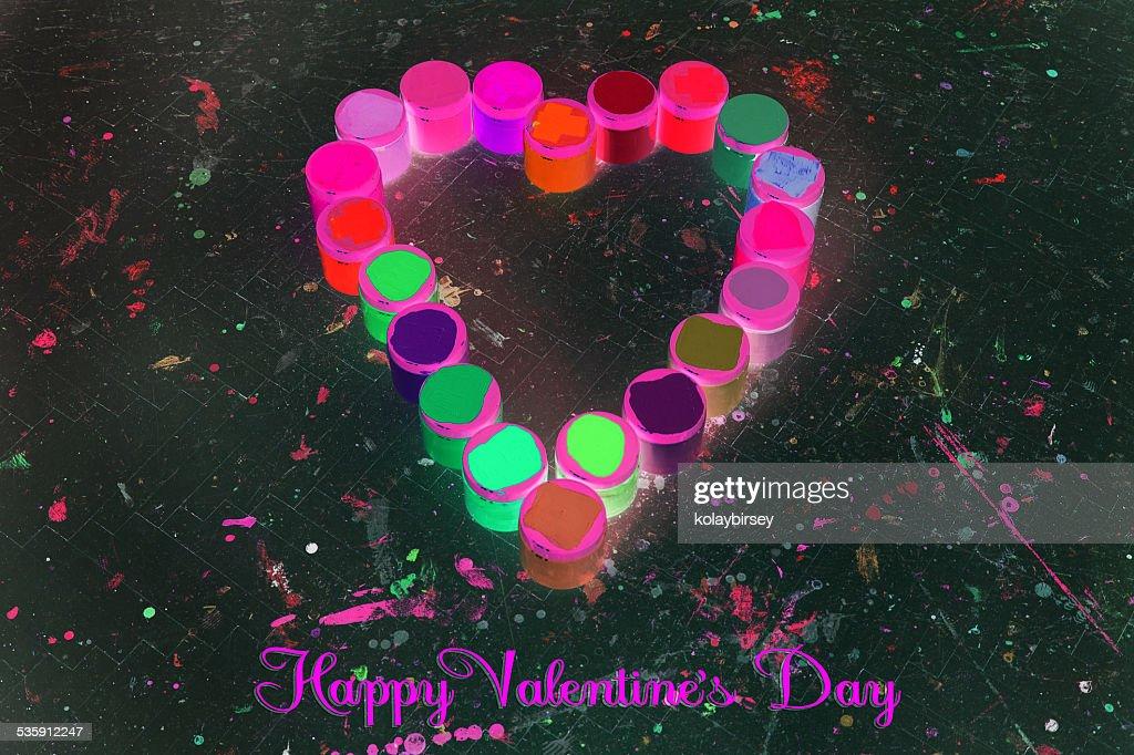 San Valentín día romántico : Foto de stock