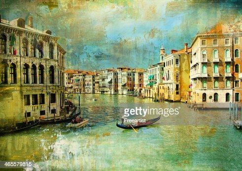 romantic Venice : Stock Photo