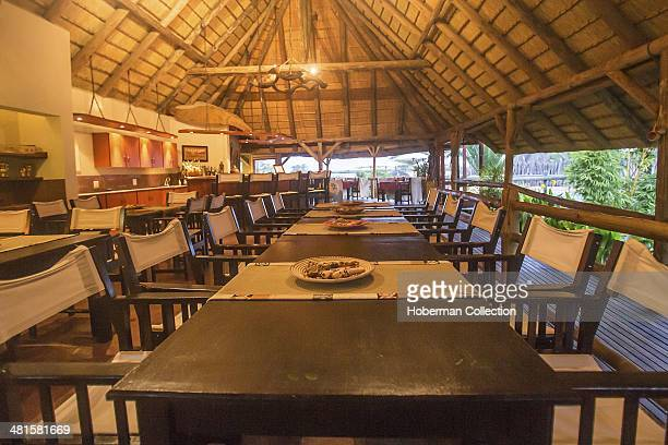 Romantice Evening Dinner Table At Frans Indongo Lodge In Namibia
