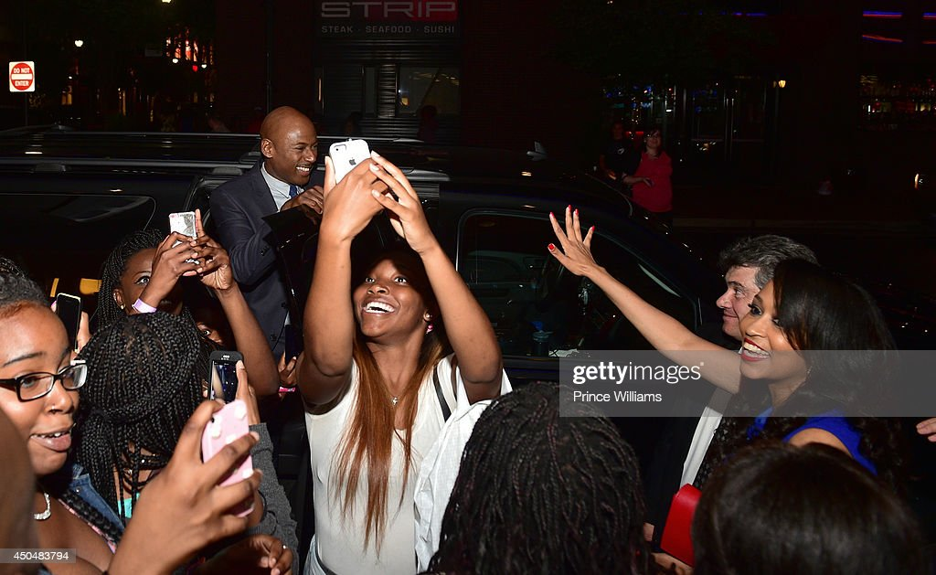 Romany Malco attends the 'Think Like A Man Too' premiere at Regal Cinemas Atlantic Station Stadium 16 on June 11, 2014 in Atlanta, Georgia.