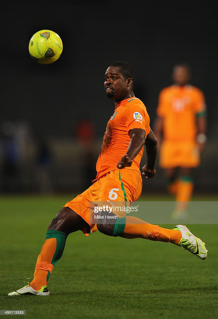 Romaric of Ivory Coast in action during the FIFA 2014 World Cup Qualifier Play-off Second Leg between Senegal and Ivory Coast at Stade Mohammed V on November 16, 2013 in Casablanca, Morocco.