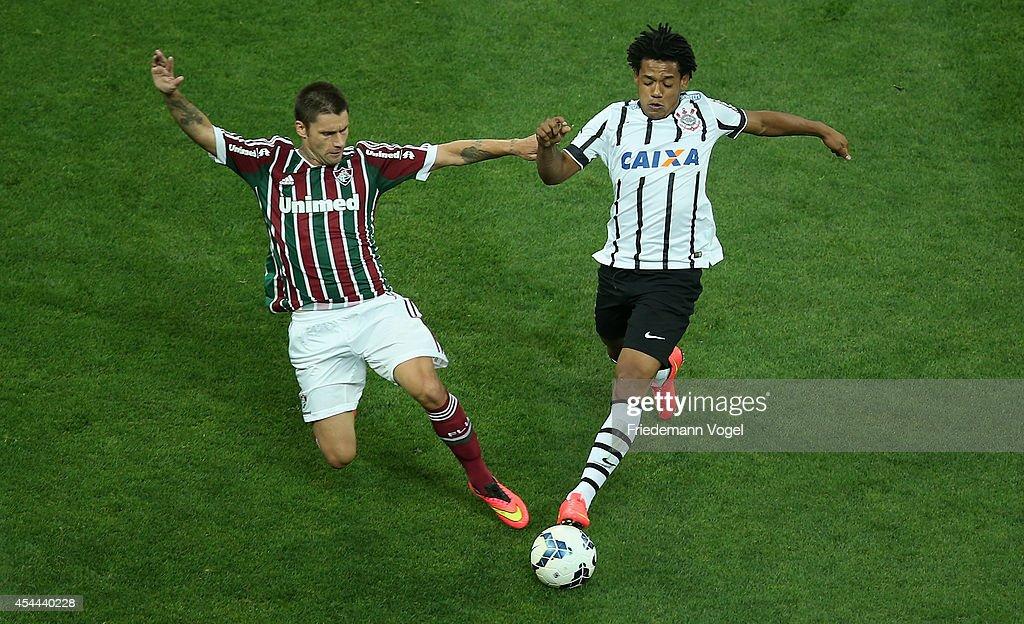 Corinthians v Fluminense - Brasileirao Series A 2014