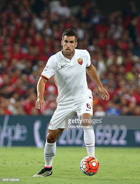 Roma's Kevin Strootman during the international friendly match between AS Roma and Al Ahly on May 20 2016 in Al Ain United Arab Emirates