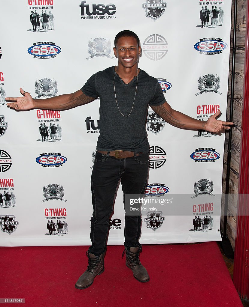 J Rome attends the 'G-Thing' Series Premiere Party at The Griffin on July 23, 2013 in New York City.