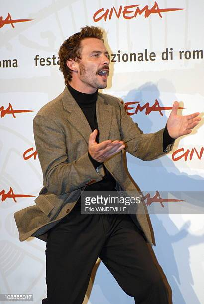 Rome first Film Festival photocall of the film 'Cages' by director Olivier MassetDepasse with Anne Coesens and Sagamore Stevenin Actor Sagamore...