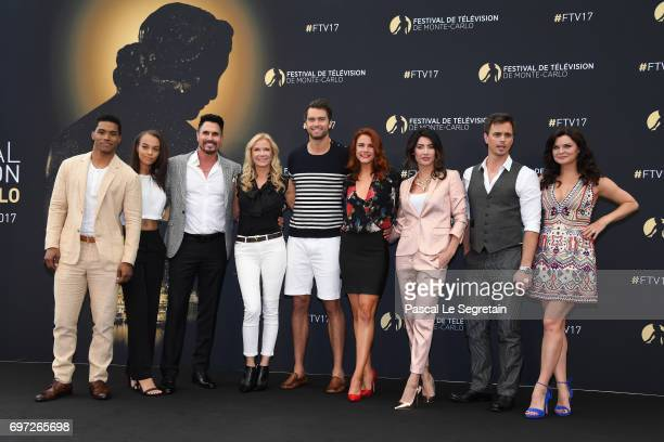 Rome FlynnReign EdwardsDon DiamontKatherine Kelly LangPierson FodeCourtney HopeJacqueline MacInnes WoodDarin Brooks and Heather Tom from 'The bold...
