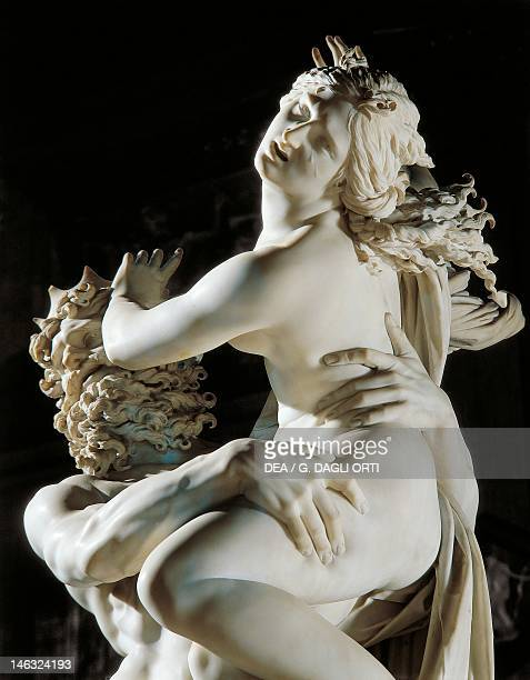 Rome Galleria Borghese Abduction of Proserpine 16211622 by Gian Lorenzo Bernini Detail