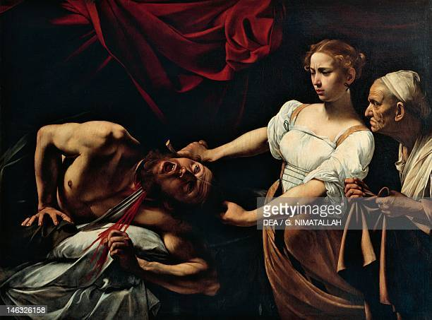 Rome Galleria Nazionale D'Arte Antica Di Palazzo Barberini Judith and Holofernes by Michelangelo Merisi da Caravaggio oil on canvas 145x195 cm