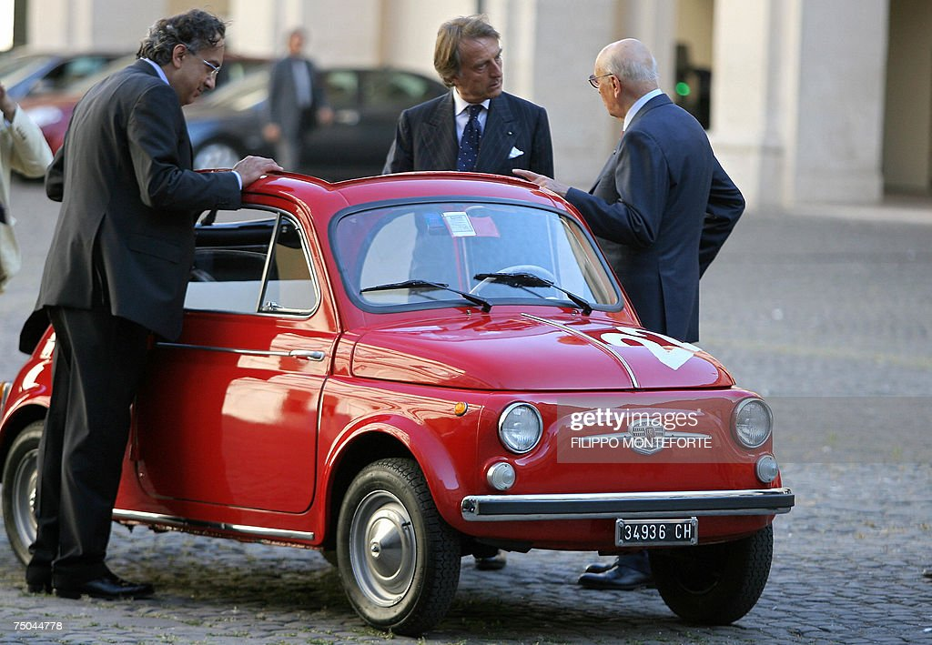 Fiat Introduces The New Fiat 500 Getty Images