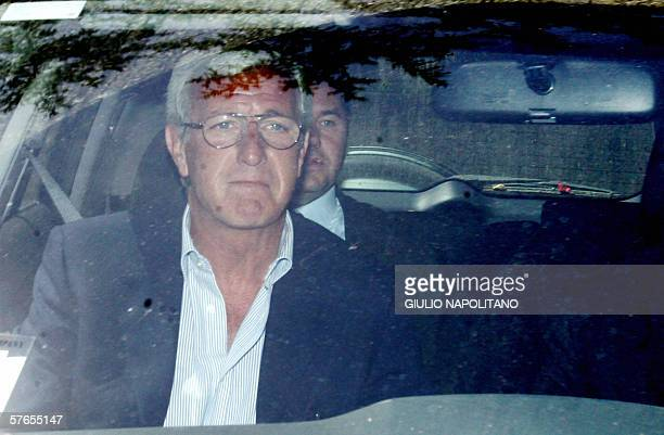 Italian coach Marcello Lippi leaves the Rome's courthouse 19 May 2006 Marcello Lippi was questioned by magistrates as part of their investigation...