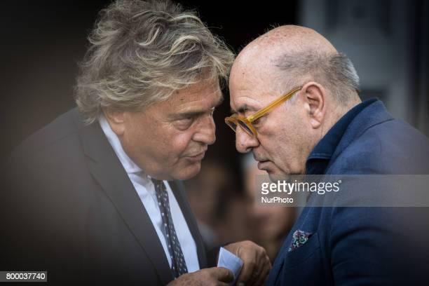 Rome Italy June 22 Dante Ferretti attends during The Carla Fendi Funeral At Chiesa degli Artisti on June 222017 in Rome