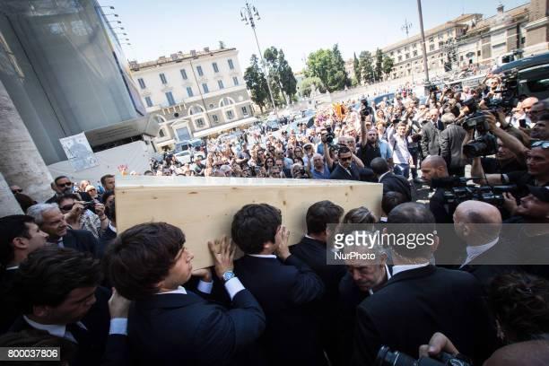 Rome Italy June 22 The Carla Fendi Funeral At Chiesa degli Artisti on June 222017 in Rome