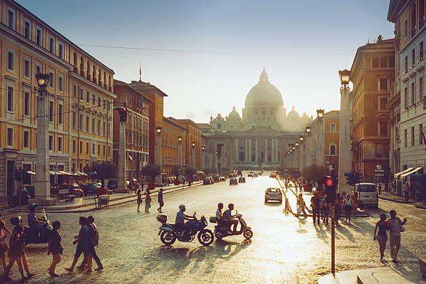 ローマの日常風景