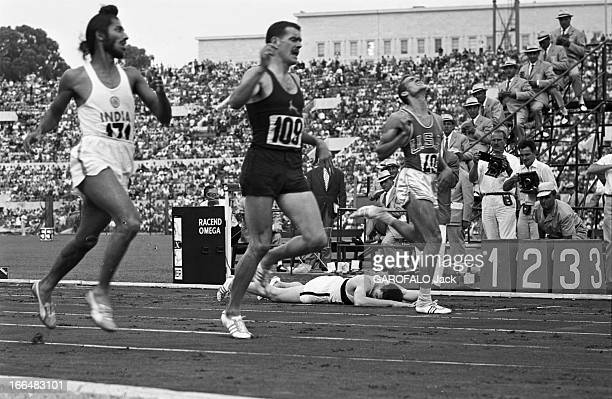 Rome Olympics Games 1960 Italie jeux olympiques de Rome ambiance épreuves et rendezvous avec des sportifs 83 pays participèrent à ces jeux Lors d'une...
