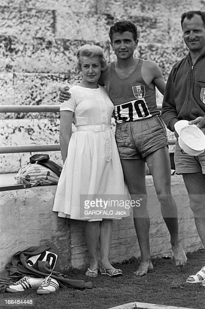 Rome Olympics Games 1960 Italie jeux olympiques de Rome ambiance épreuves et rendezvous avec des sportifs 83 pays participèrent à ces jeux Pieds nus...