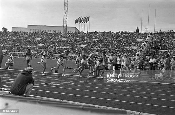Rome Olympics Games 1960 Italie jeux olympiques de Rome ambiance épreuves et rendezvous avec des sportifs 83 pays participèrent à ces jeux Sur la...