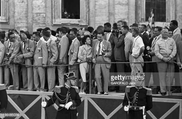 Rome Olympics Games 1960 Italie jeux olympiques de Rome ambiance épreuves et rendezvous avec des sportifs 83 pays participèrent à ces jeux Pendant...