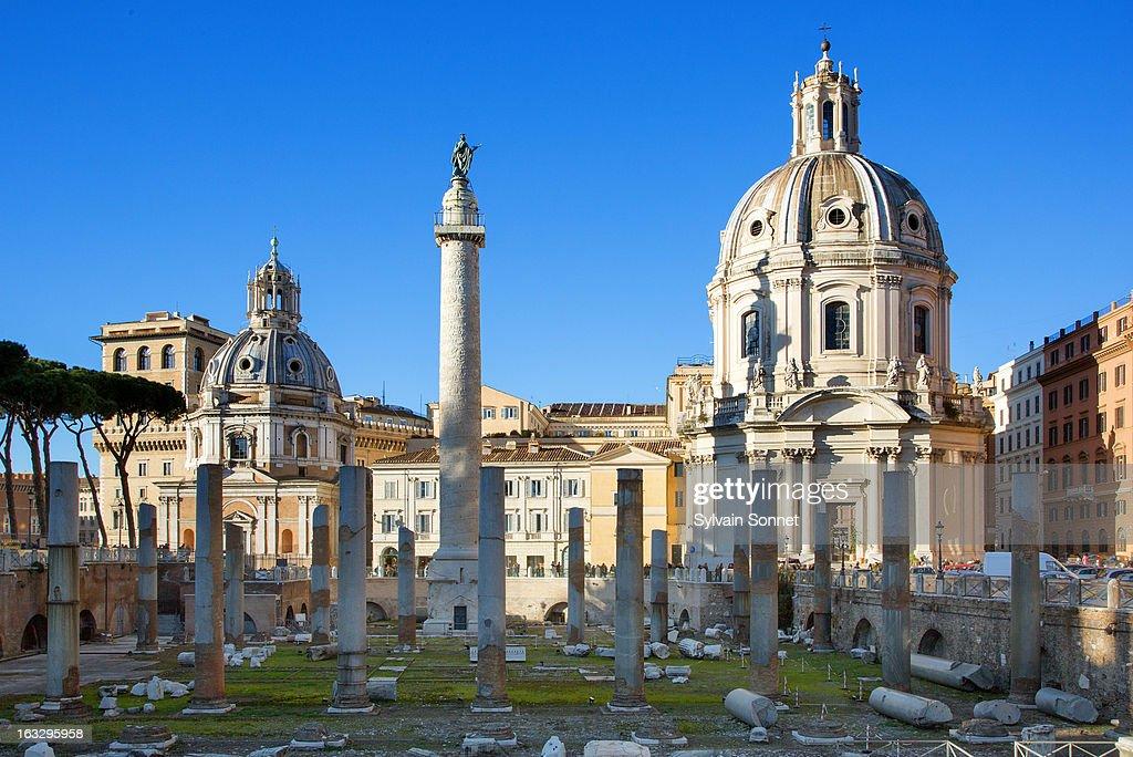 Rome, Roman Forum, column of Trajan