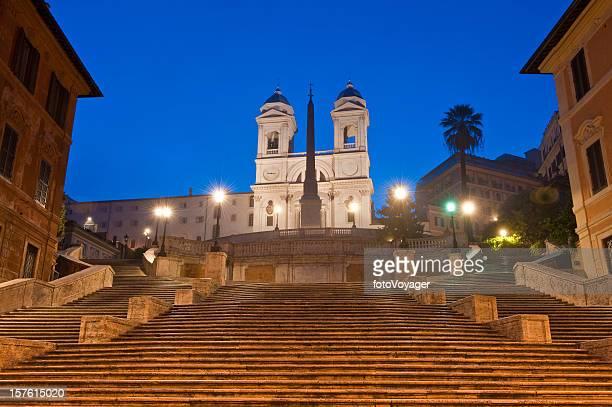Rome Scalinata di Spagna Spanish Steps Trinita dei Monti Italy
