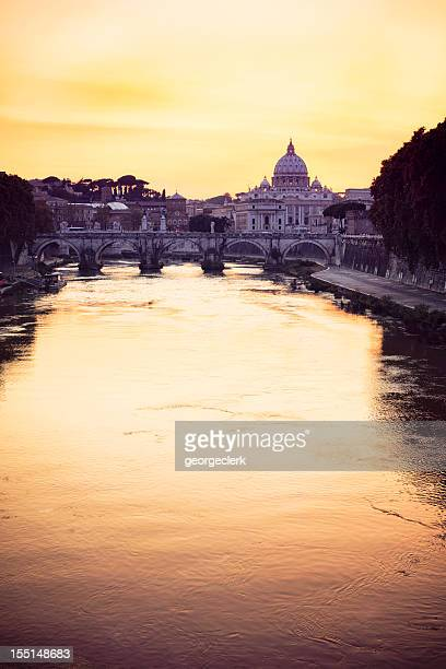 Rome: Sunset over the Tiber