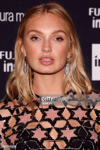 Romee Strijd attends the 2017 Harper ICONS party at The Plaza Hotel on September 8 2017 in New York City