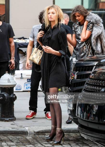 Romee Strijd is seen on June 09 2017 in New York City